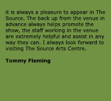Tommy Fleming live at The Source Arts Centre Thurles
